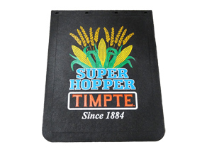 "Mud Flap 24"" x 30"" Super Hopper Crop Logo - Current"