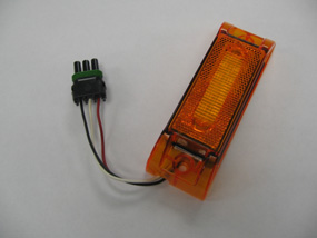 LED Midship With Turn Signal, Amber