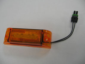 LED Amber Clearance Light
