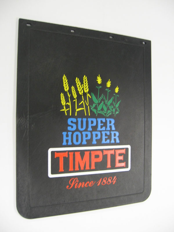 "Mud Flap 24"" X 30"" Super Hopper Crop Logo."