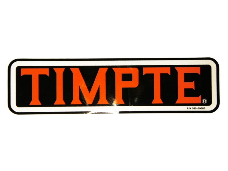Timpte Decal