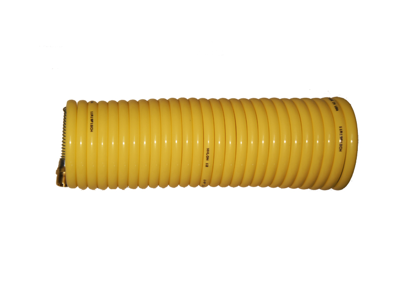 Coiled Air Line For Vibrator