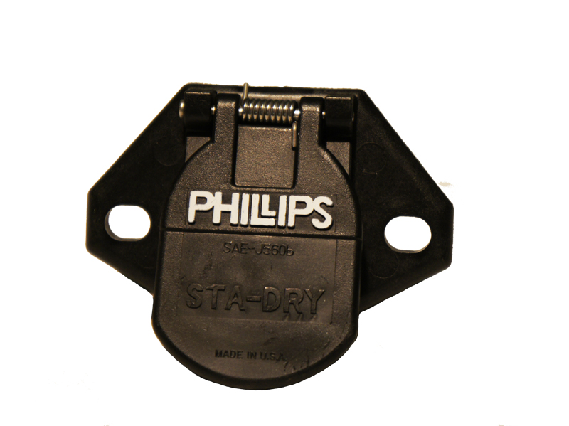 Phillips 7 Way Socket - Phillips Nose Plug Way - Phillips 7 Way Socket
